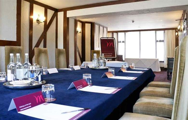 Mercure Banbury Whately Hall Hotel - Conference - 61