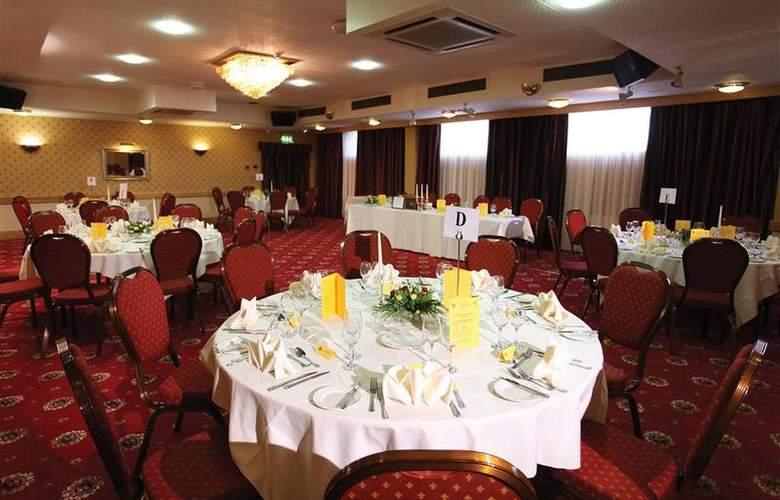 Best Western Glendower - Restaurant - 163