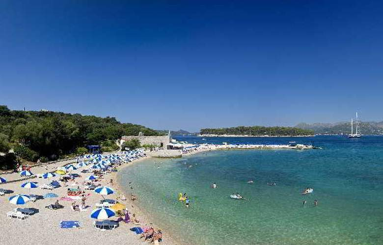 Valamar Club Dubrovnik - Beach - 12