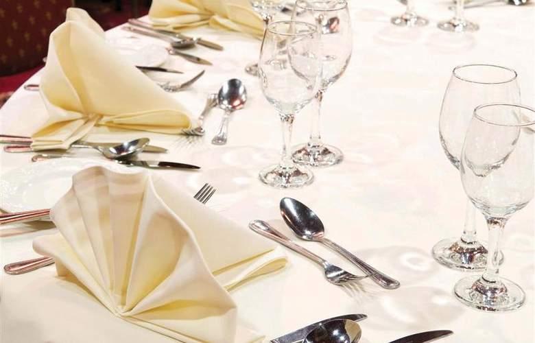 Best Western Glendower - Restaurant - 177