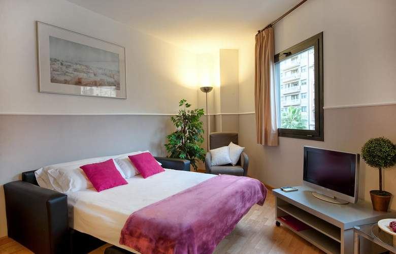 Sata Apartamentos Park Guell Área - Room - 3