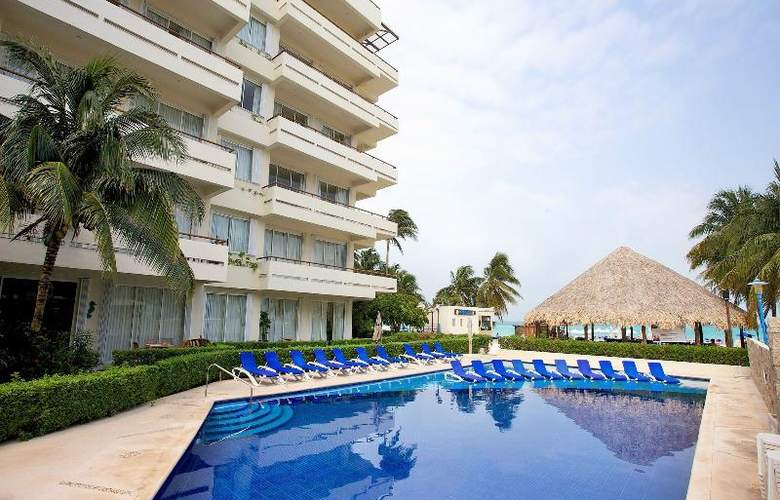Ixchel Beach Hotel - Pool - 20