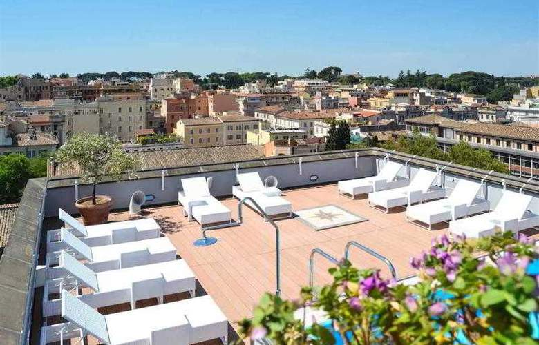 Mercure Roma Centro Colosseo - Terrace - 14