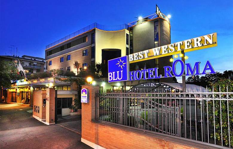 Best Western Blu Hotel Roma - Hotel - 48