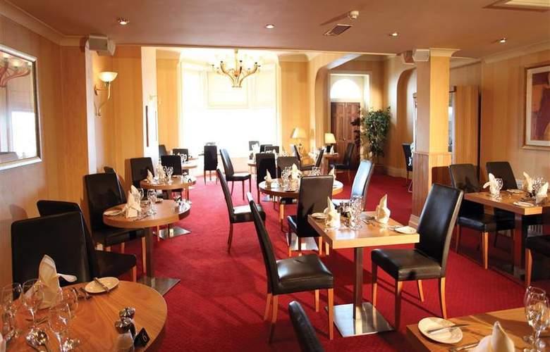 Best Western Glendower - Restaurant - 159