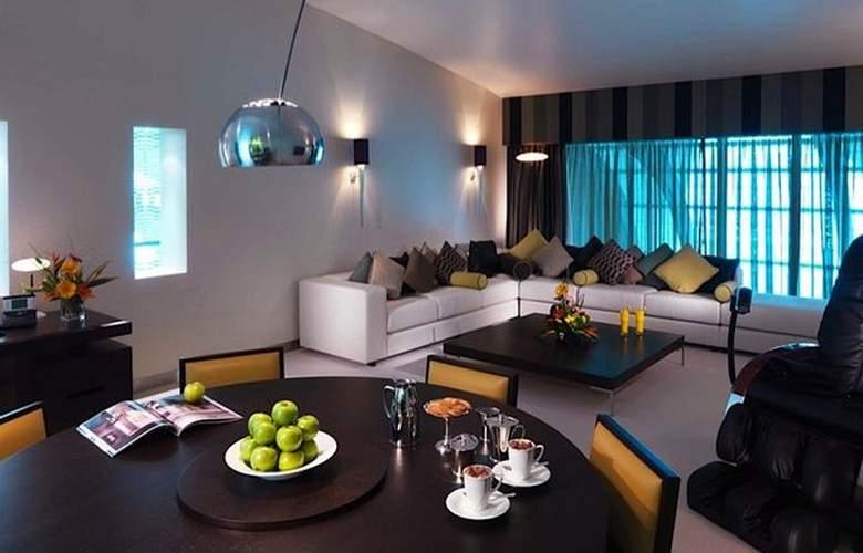 Dubai International Airpot - Terminal hotel - Room - 14