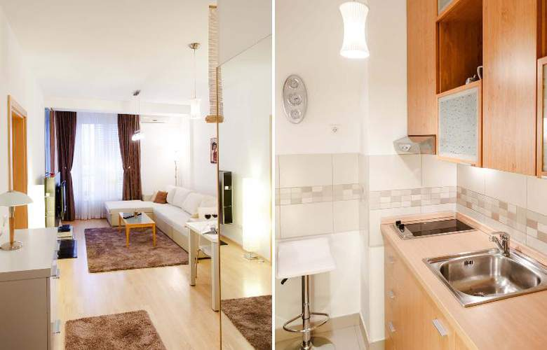 One Bedroom Apartment City Star - Hotel - 19
