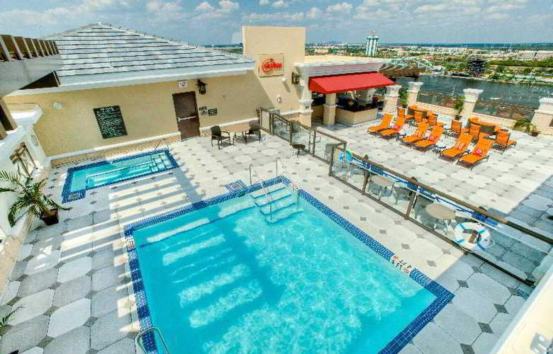 Ramada Plaza Resort and Suites Orlando International Drive - Pool - 4