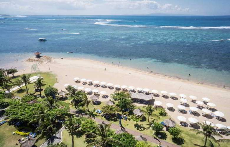 Grand Mirage Resort & Thalasso Bali - Beach - 12