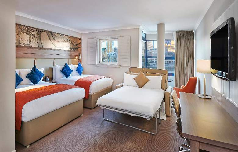 Hilton London Docklands Riverside - Room - 22