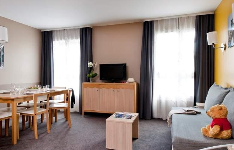 Adagio Marne-la-Vallée Val d´Europe - Room - 4