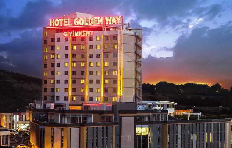 Golden Way Hotel Giyimkent - Hotel - 0