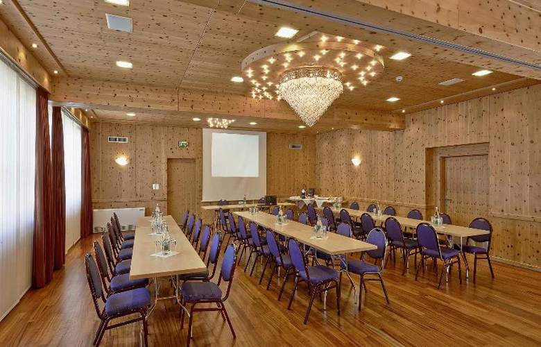 City and Wellness Swiss Quality Hotel Sonnental - Conference - 7