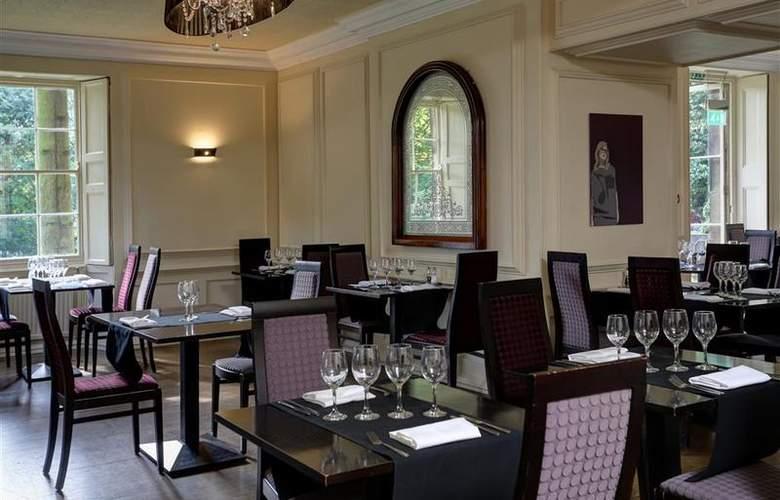 Best Western Mosborough Hall - Restaurant - 177