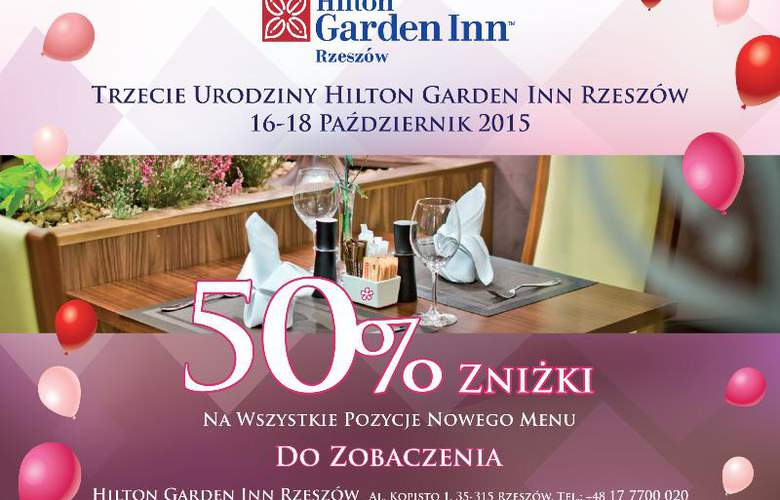 Hilton Garden Inn Rzeszow - Hotel - 2