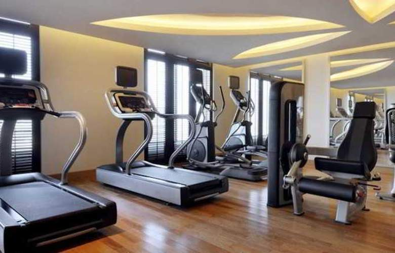 Marriott Executive Apartments Dubai Al Jaddaf - Sport - 3