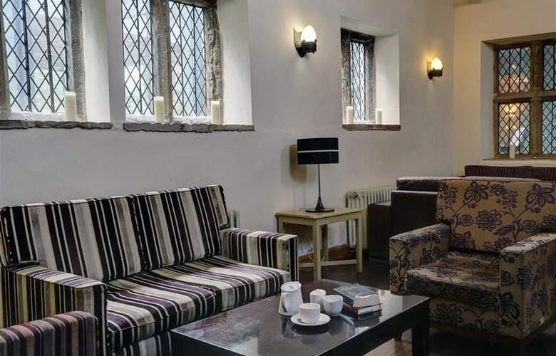 Best Western Mosborough Hall - Bar - 169