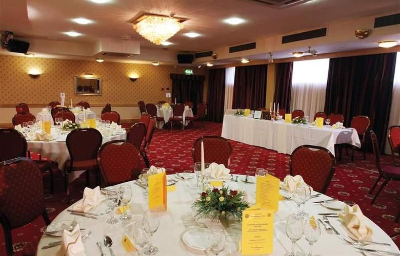 Best Western Glendower - Restaurant - 168