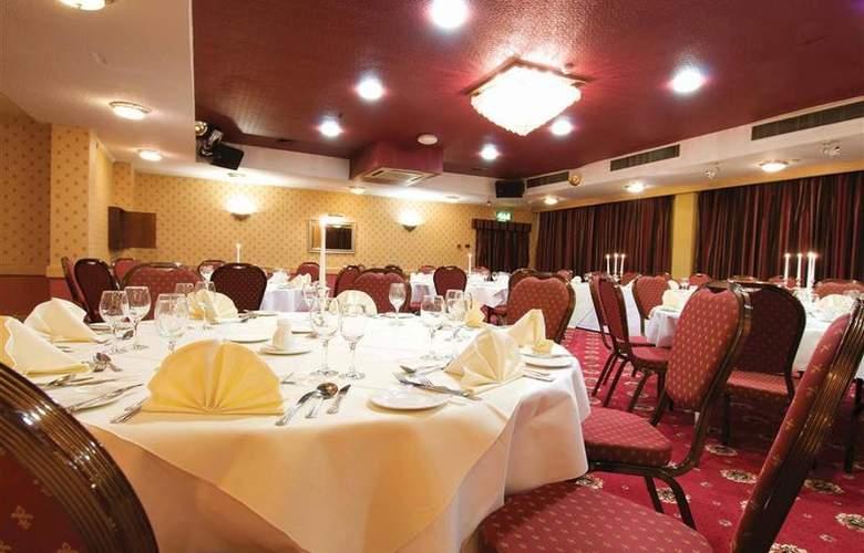 Best Western Glendower - Restaurant - 137