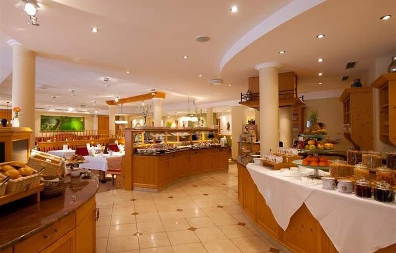 Best Western Premier Kaiserhof Kitzbühel - Restaurant - 31