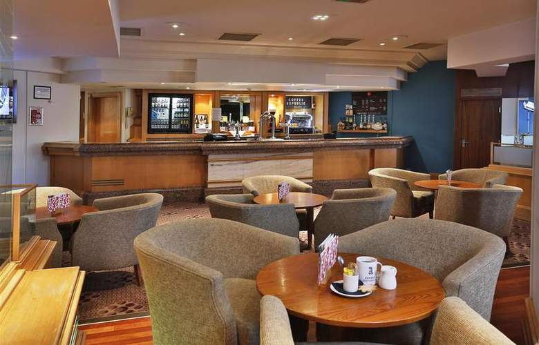 Best Western Stoke-On-Trent Moat House - Bar - 93