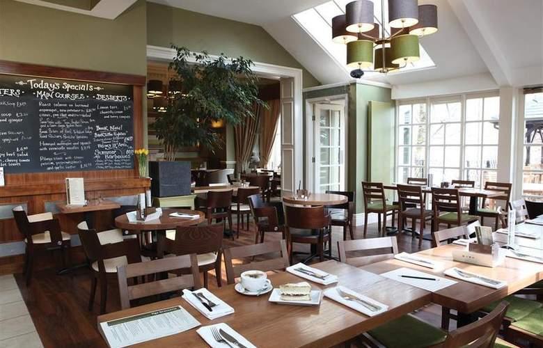 Best Western Willerby Manor Hotel - Restaurant - 45