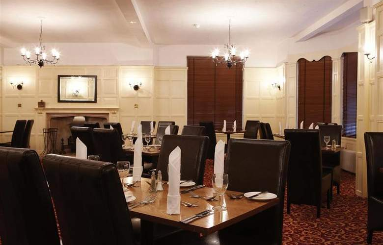 Best Western Linton Lodge Oxford - Restaurant - 166