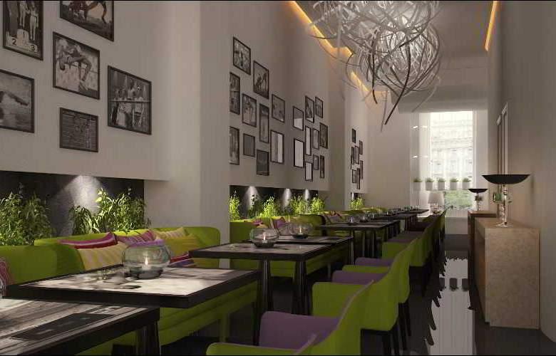 Jump Inn Belgrade - Restaurant - 4