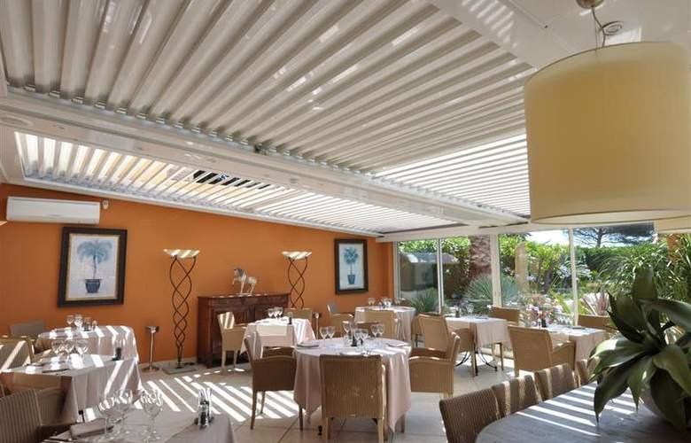 Best Western Hotel Montfleuri - Restaurant - 110