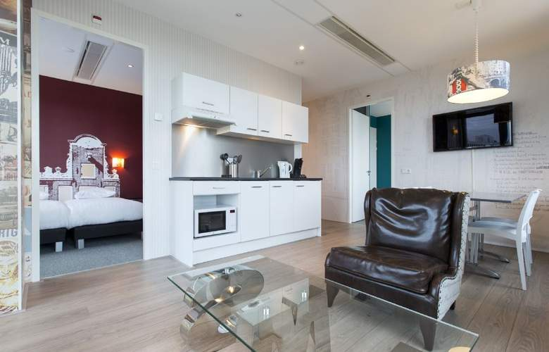 Amsterdam ID Aparthotel - Room - 1