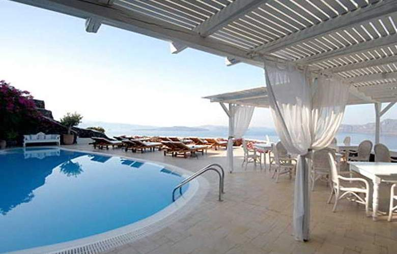 Canaves Oia Suites Apartments - Terrace - 12