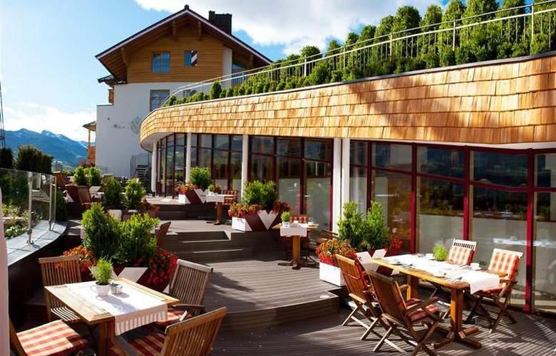 Best Western Premier Kaiserhof Kitzbühel - Terrace - 6