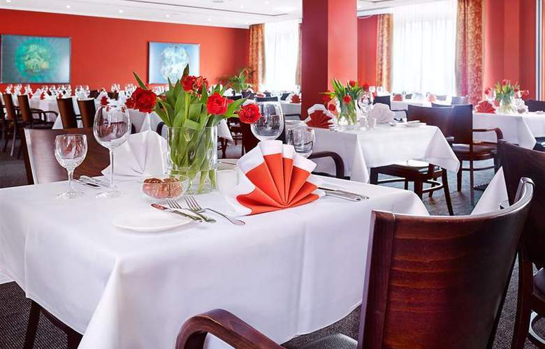 Best Western Premier Airporthotel Fontane Berlin - Restaurant - 54