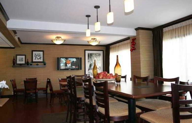 Hampton Inn Newark-Airport - Restaurant - 9
