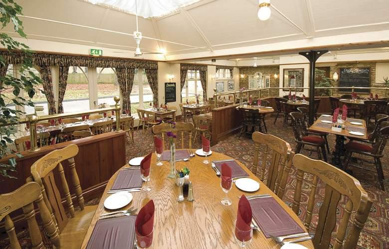 Best Western Plus Orton Hall Hotel & Spa - Restaurant - 6