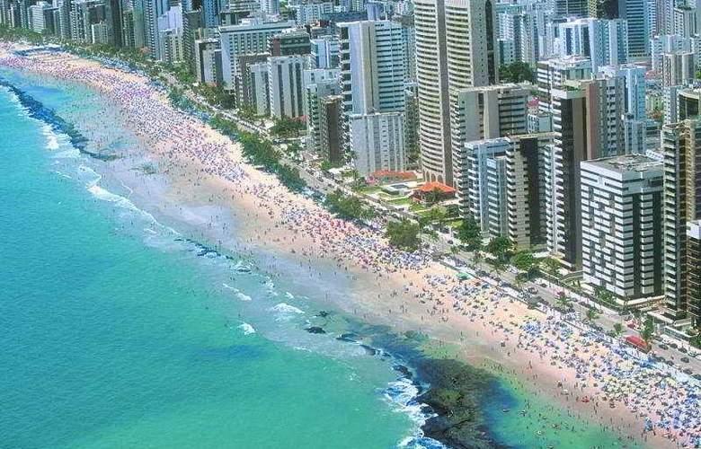 Recife Monte Hotel - Beach - 6