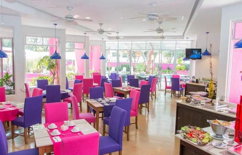 Best Western Real de Puebla - Restaurant - 82