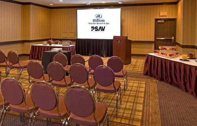 Hilton Whistler Resort & Spa - Conference - 6