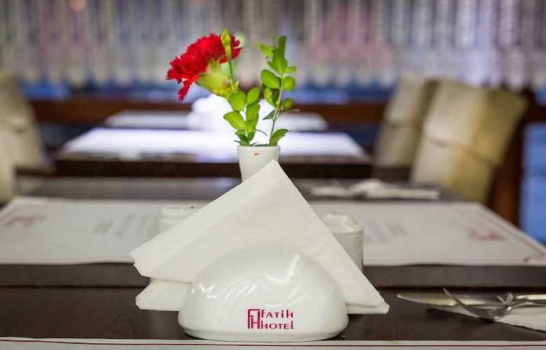 Osmanbey Fatih Hotel - Restaurant - 17