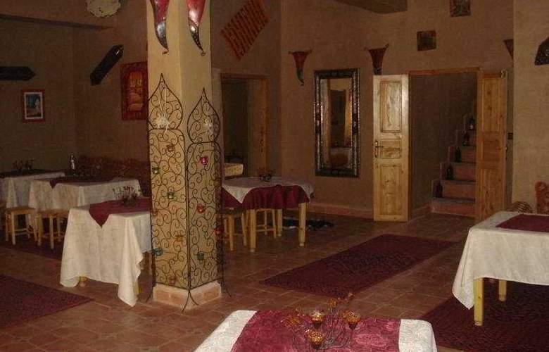 Kasbah Ait Ben Damiette - Restaurant - 11