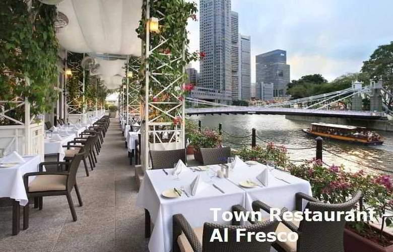 The Fullerton Singapore - Restaurant - 6