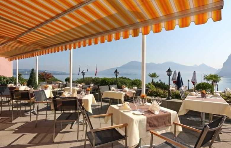 Kastanienbaum Swiss Quality Seehotel - Terrace - 10