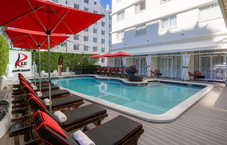 Red South Beach Hotel - Pool - 16
