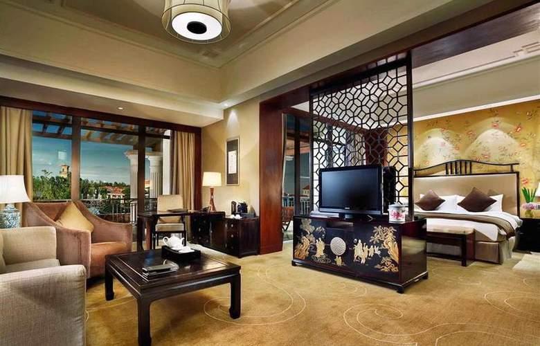 Sofitel Shanghai Sheshan Oriental - Room - 3