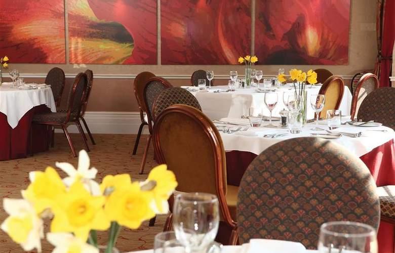 Best Western Willerby Manor Hotel - Restaurant - 55