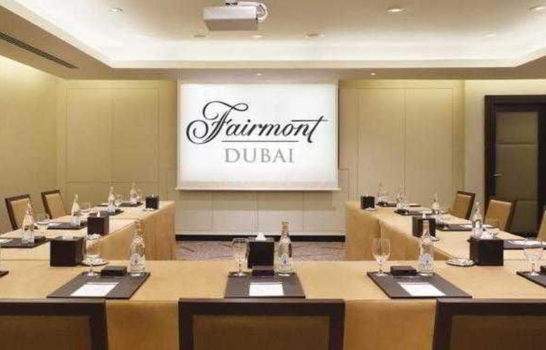 Fairmont Dubai - Conference - 3
