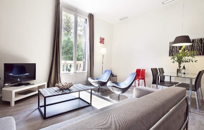 Aspasios 42 Rambla Catalunya Suites - Room - 12
