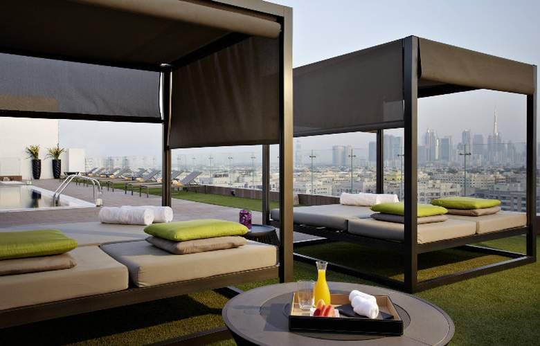The Canvas Hotel Dubai MGallery By Sofitel - Terrace - 8