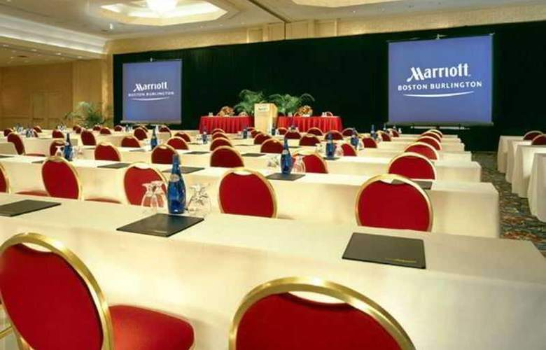 Boston Marriott Burlington - Conference - 5