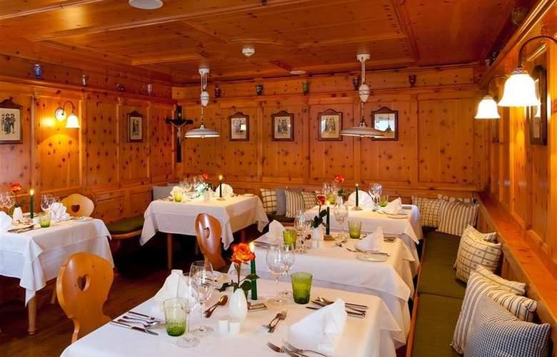 Best Western Premier Kaiserhof Kitzbühel - Restaurant - 4